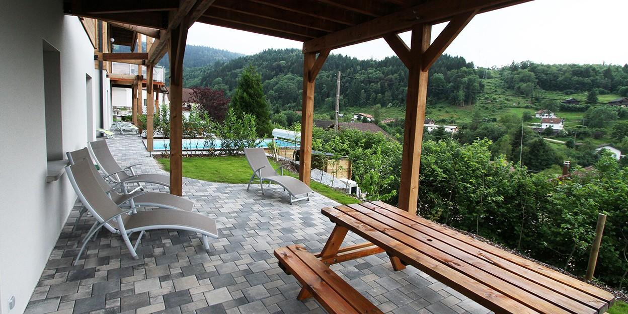 Table terrasse extérieur