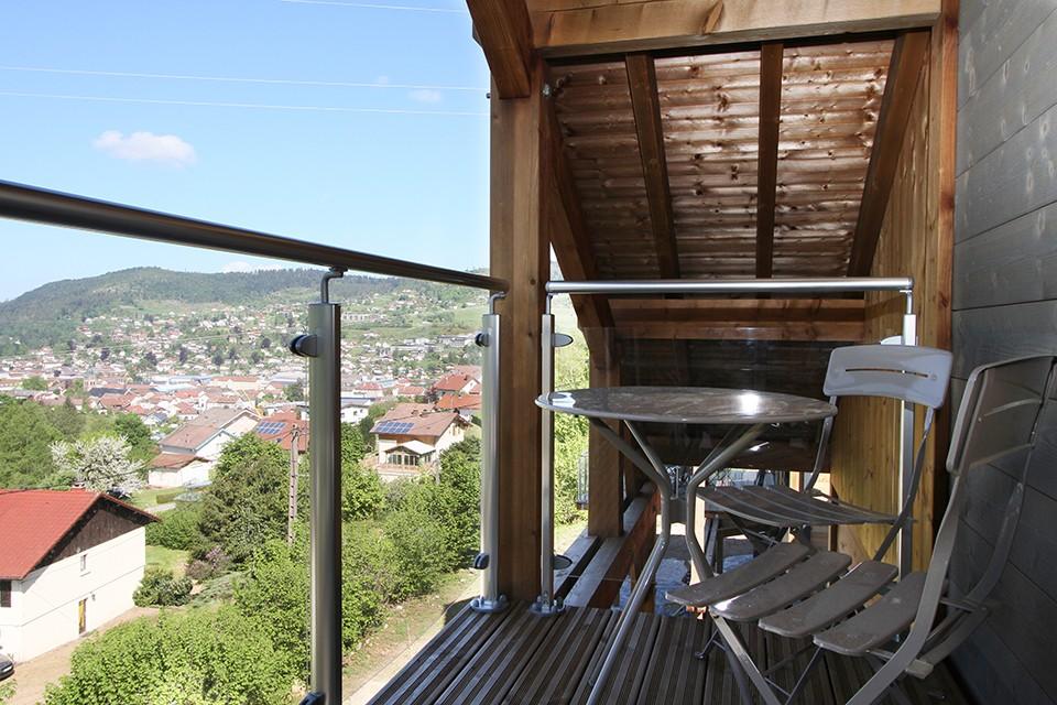balcon romantique suite parentale