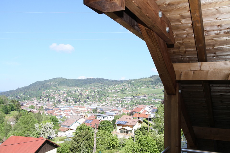 vue du balcon Isabella