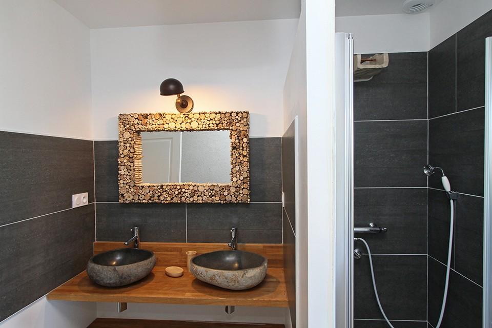 salle de bain rez de jardin